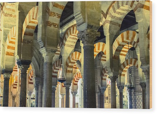 Mosque Cathedral Of Cordoba 2 Wood Print
