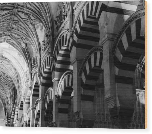 Mosque Cathedral Of Cordoba 6 Wood Print