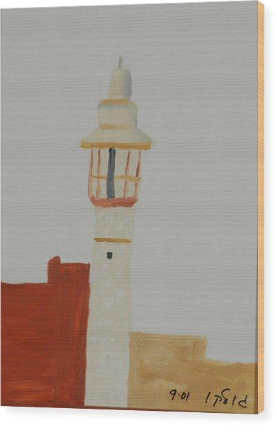 Mosque Wood Print by Harris Gulko