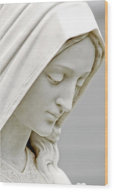 Mother Mary Comes To Me... Wood Print