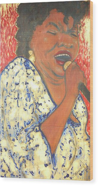 Mother Nature Koko Taylor Wood Print