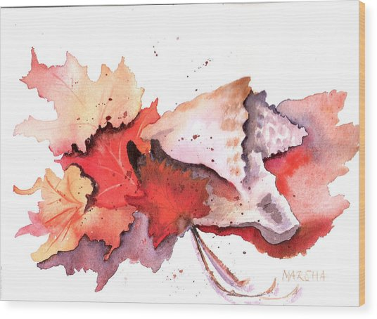 Mother Nature's Pallette Wood Print