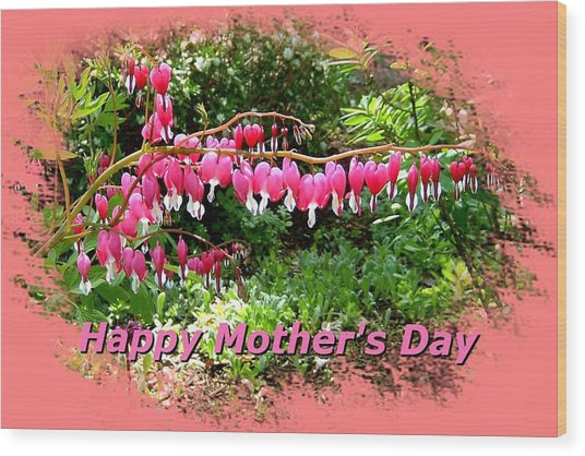 Mother's Day Wood Print