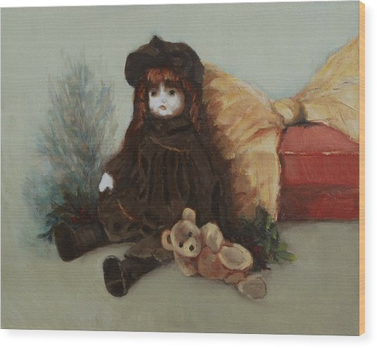 Mother's Doll Wood Print