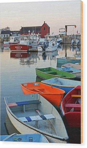 Motif #1 Rockport Ma Wood Print