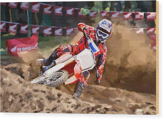 Moto-x Wood Print