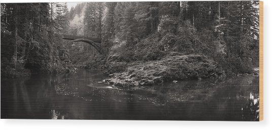 Moulton Bridge Wood Print