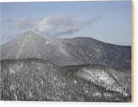 Mount Carrigain - White Mountains New Hampshire Usa Wood Print