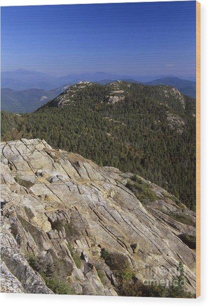 Mount Chocorua - White Mountains New Hampshire Usa Wood Print