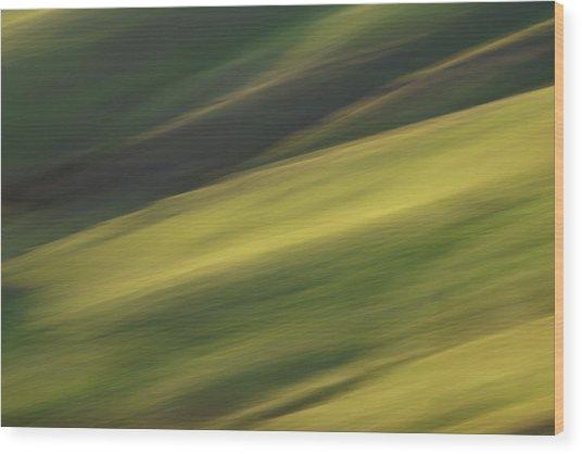 Mount Diablo - Impressions Wood Print