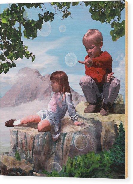Mount Innocence Wood Print