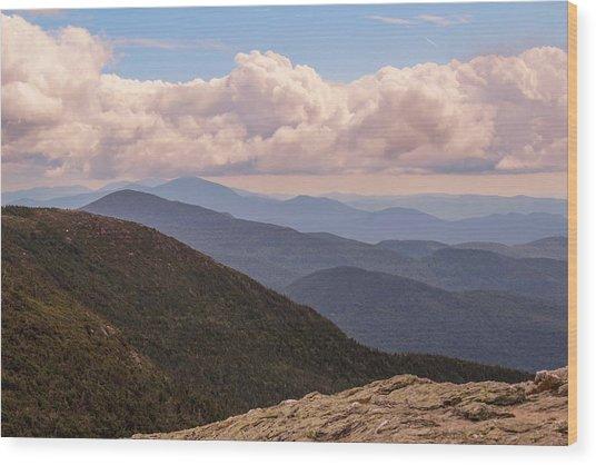 Mount Mansfield Vermont Wood Print
