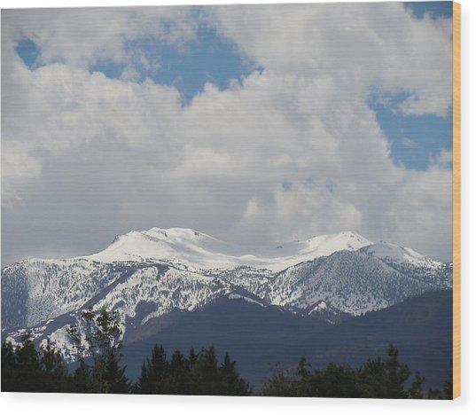 Mount Rose Reno Nevada Wood Print