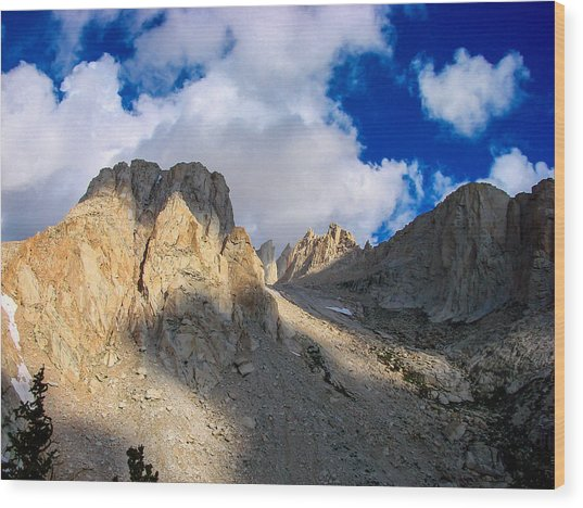 Mount Whitney Trail Wood Print