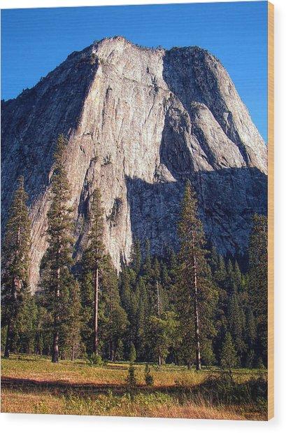 Mountain Cathedral - Yosemite Wood Print