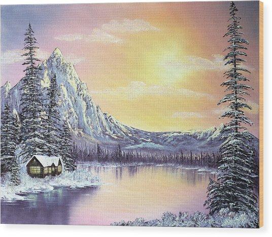 Mountain Majesty Wood Print