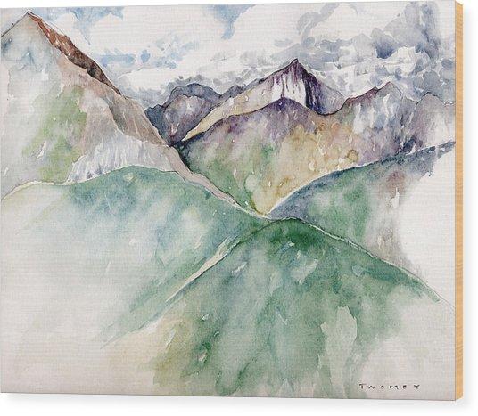 Mountain View Colorado Wood Print