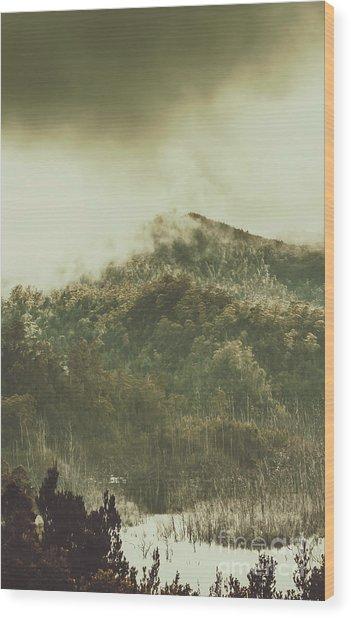 Mountain Wilderness Wood Print