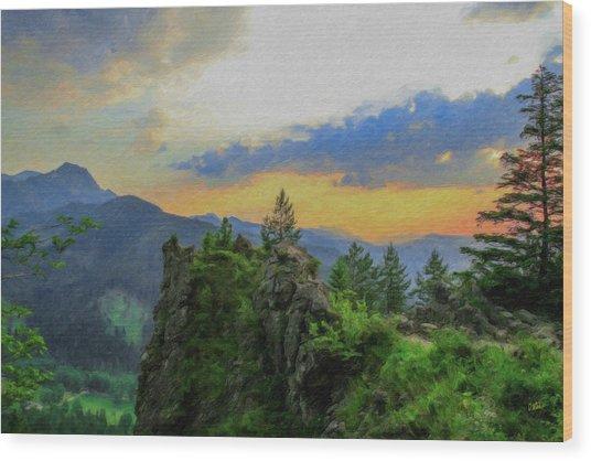 Mountains Tatry National Park - Pol1003778 Wood Print