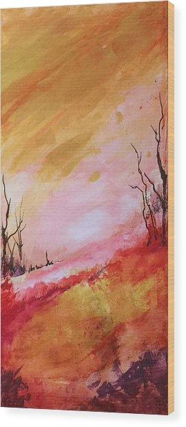 Mountainside #2 Wood Print