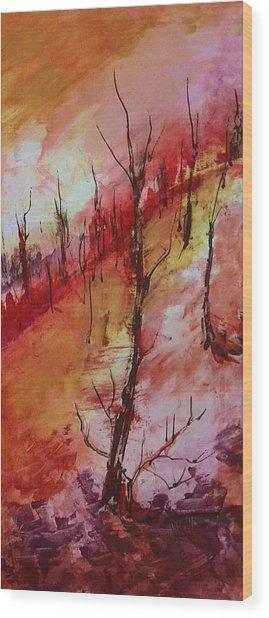 Mountainside #3 Wood Print