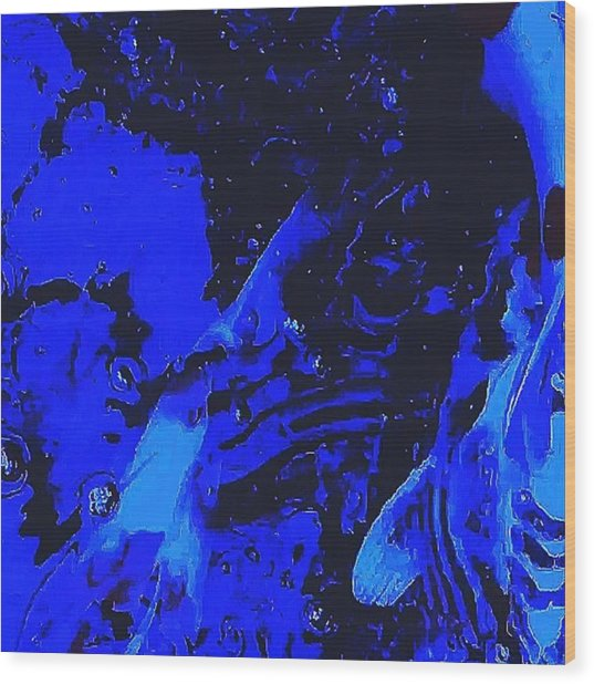 Movements In Silence  Wood Print