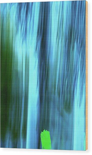 Moving Trees 37-15portrait Format Wood Print