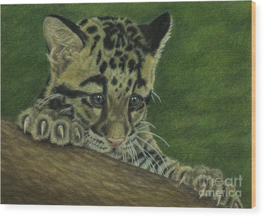 Mowgli Wood Print
