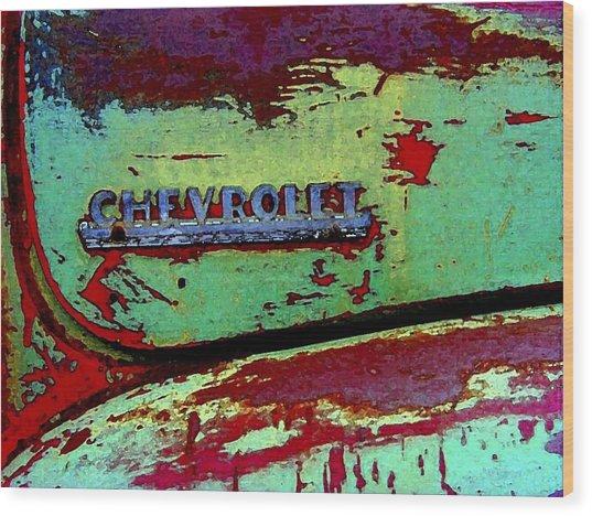 Mprints - Oldie But Goodie Wood Print