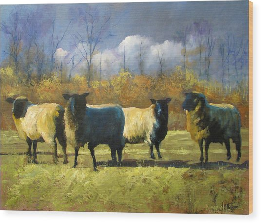 Mr. Shew's Sheep Wood Print