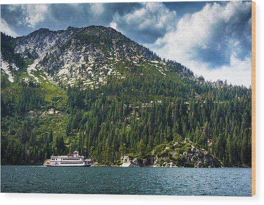M.s. Dixie II, Lake Tahoe, Ca Wood Print