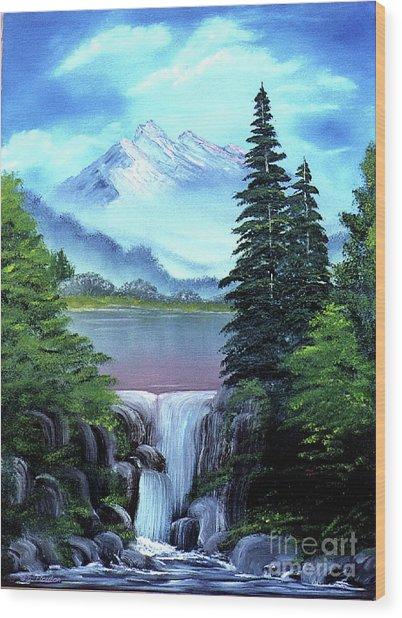 Mt Fuji Wood Print
