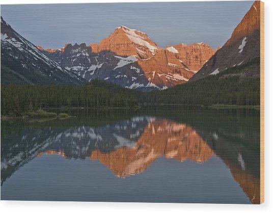 Mt. Gould Wood Print