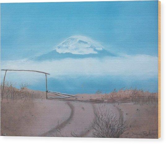 Mt. Kilimanjaro Wood Print