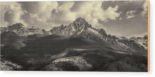 Mt. Sneffels Wood Print