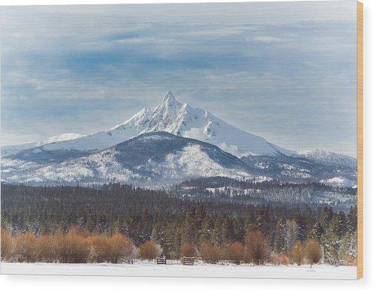 Mt. Washington Wood Print by Joe Hudspeth
