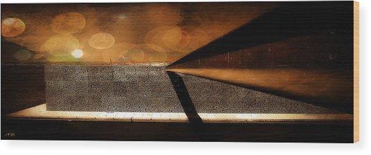 Mucem,panoramic,bokeh Wood Print