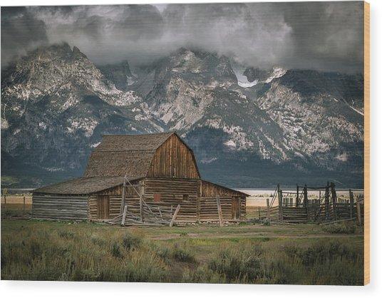 Multon Barn Wood Print