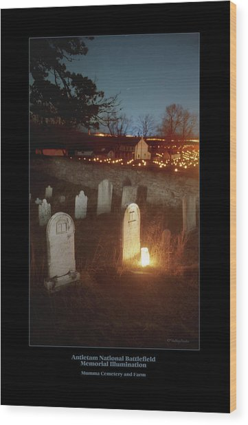 Mumma Cemetery And Farm 96 Wood Print