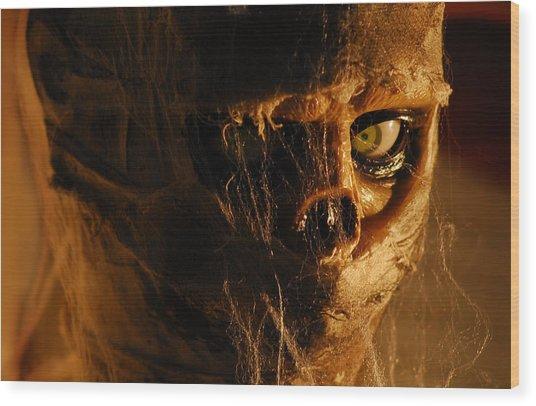 Mummy Wood Print