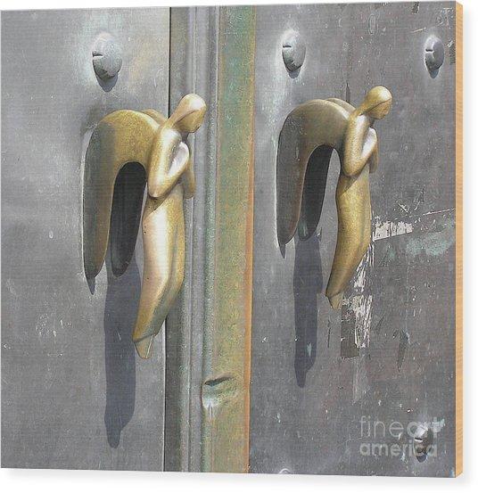 Munich Angels Wood Print