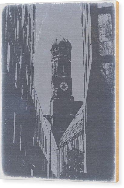 Munich Frauenkirche Wood Print