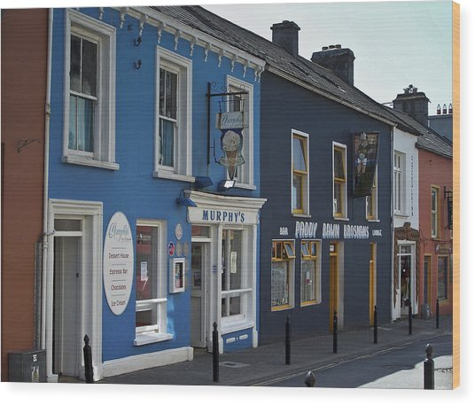 Murphys Ice Cream Dingle Ireland Wood Print