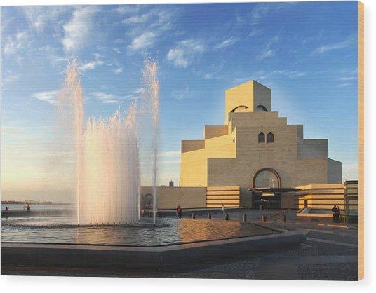 Museum Of Islamic Art Doha Qatar Wood Print