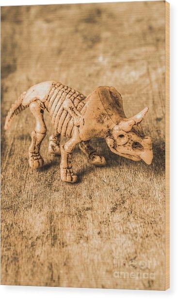 Museum Of Plastic Extinctions Wood Print
