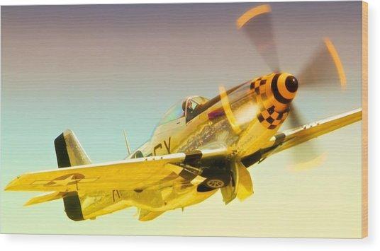 Mustang Checkmate Wood Print