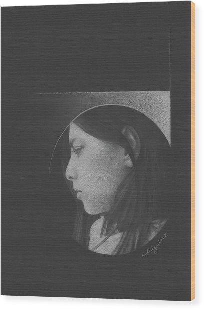 Muted Shadow No. 1 Wood Print