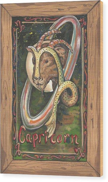My Capricorn Wood Print