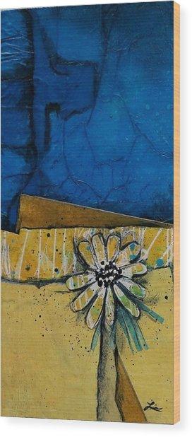 My Favorite Flower Wood Print by Laura Lein-Svencner