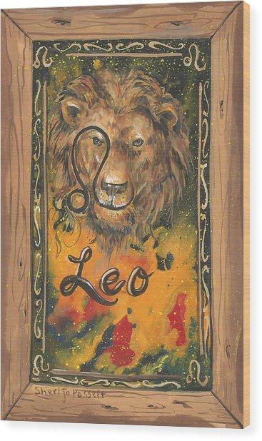 My Leo  Wood Print